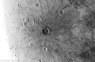 Copernicus Crater Region: Inverted Colors