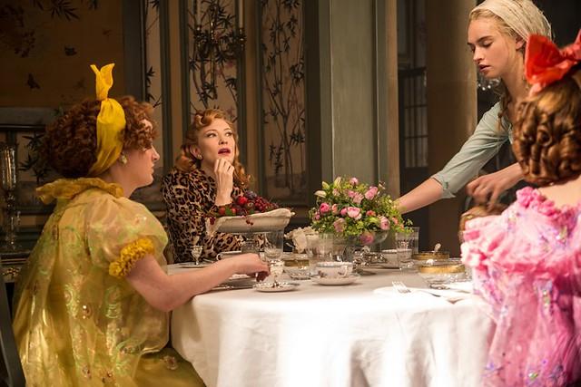 family dining image of disney cinderella movie 2015 - movie screenshot movie scene-f59717