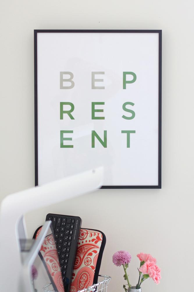 Bepresent print
