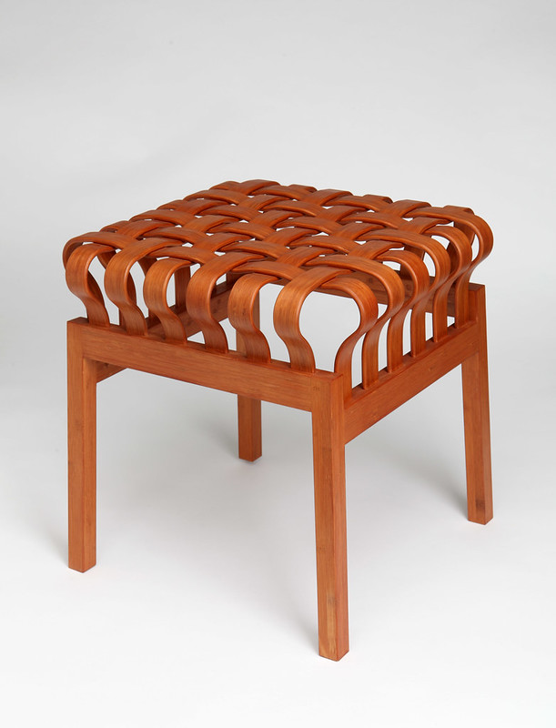 Manchester Art Gallery, Eastern Exchanges, Weave stool