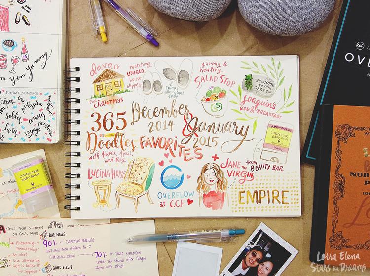 Lorra Elena's December 2014 and January 2015 Favorites