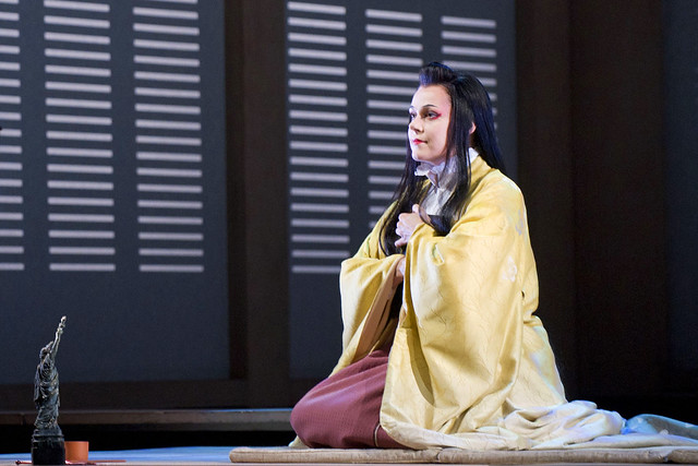Kristine Opolais as Cio Cio San in Madama Butterfly © ROH/Mike Hoban, 2011