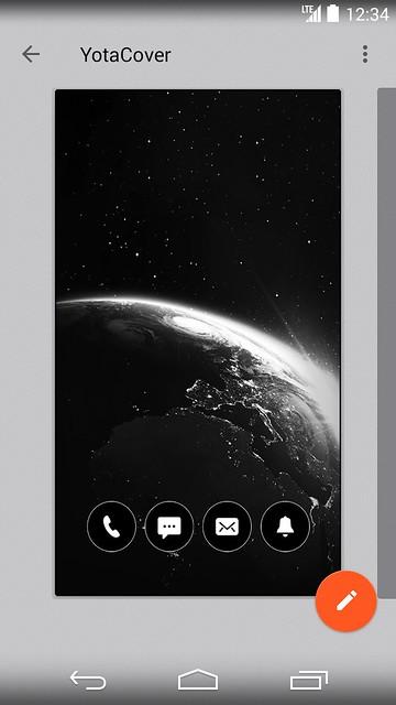 YotaPhone 2 - YotaCover