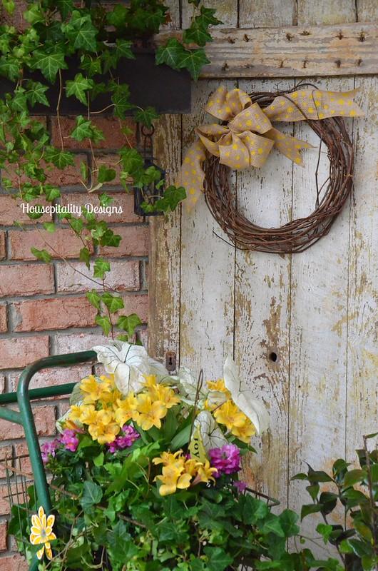 Front Porch/Cart/Vintage Door-Housepitality Designs