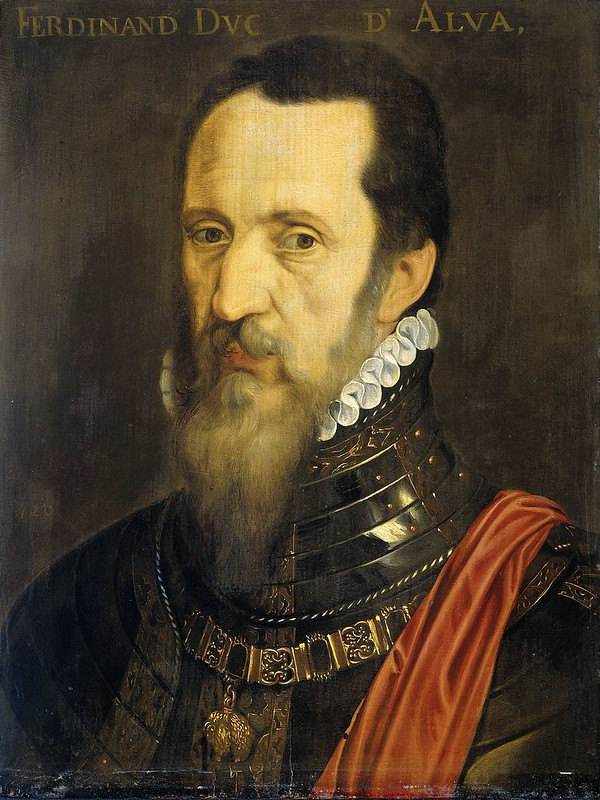Portrait of Fernando Álvarez de Toledo, Duke of Alba, by Willem Key