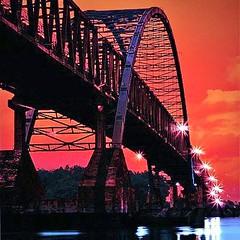 Jembatan Kahayan, #Palangkaraya, #Kalimantan, Indonesia.