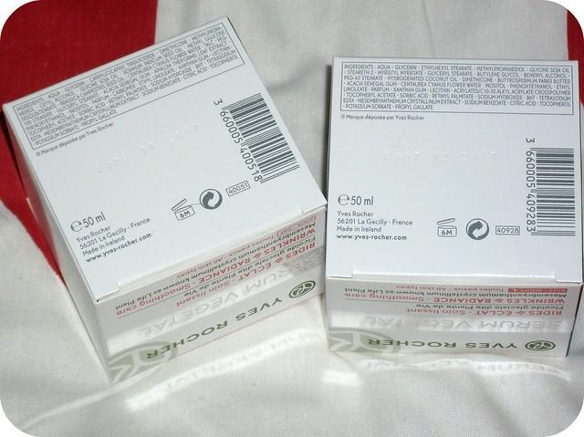 Yves Rocher Serum Vegetal Ingredients