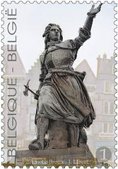 17- Tournai timbre1