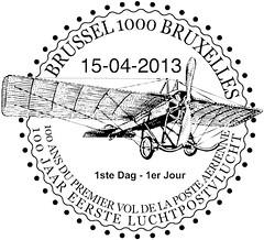 09-Cachet Aviation 1ste dag