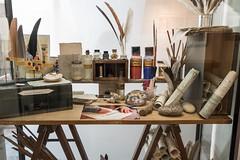 Atelier du peintre Jacques Le Roux, musée Chintreuil, Pont-de-Vaux (Ain, France)
