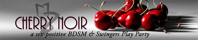 Cherry Noir Banner