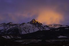 Mt. Sneffels, Colorado, 14,158 ft.