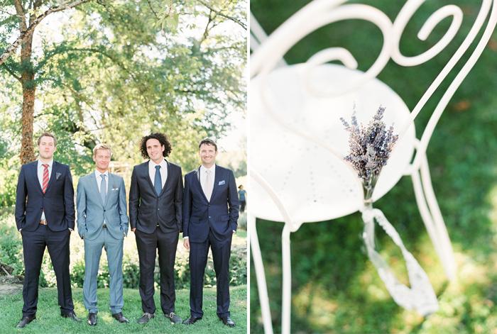 Um Destination Wedding na França, com apenas 16 pessoas, num dia lindo e com a natureza de cenário! E precisa de mais?! :)