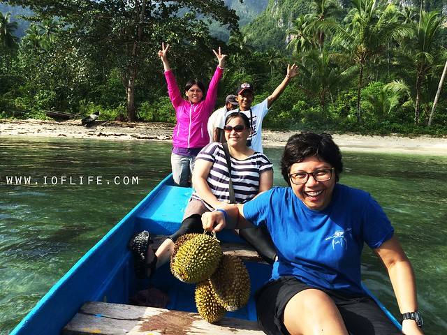 trekking dan durian