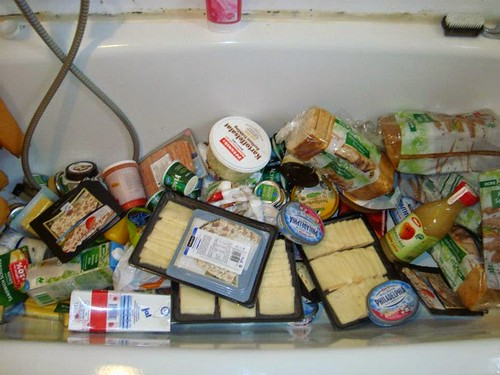 希望你也能到超市後面的垃圾桶看看裡面有什麼。圖片來源:楊宗翰