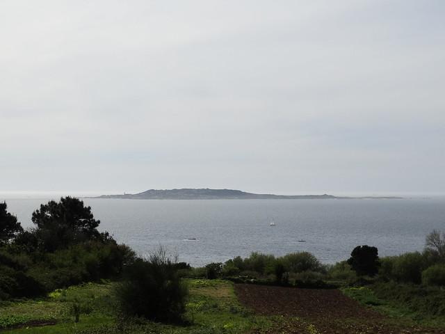 Isla de Sálvora en la ría de Arousa