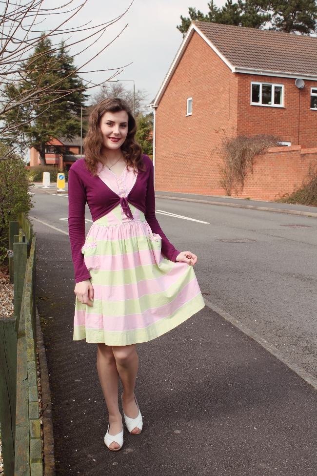 easter vintage outfit via lovebirds vintage