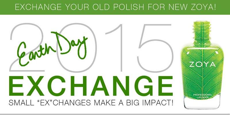 toxin-free Zoya Nail Polish Exchange Earth Day Polishes 50%