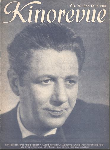 Časopis Kinorevue 1942-43 č. 20,  Paul Hörbiger