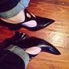 So, this happened. The most GAF shoes ever. #fluevog
