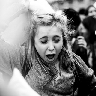 Pillow fight candid 08
