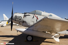 135018 AE-810 - 10095 - US Navy - Douglas EA-1F Skyraider AD-5Q - Pima Air and Space Museum, Tucson, Arizona - 141226 - Steven Gray - IMG_8442