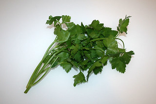 08 - Zutat Petersilie / Ingredient parsley