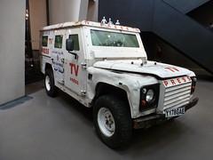 Rocket Damaged TV/Press Land Rover Defender