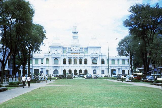 SAIGON 1965-66 - City Hall - Tòa Đô Chánh