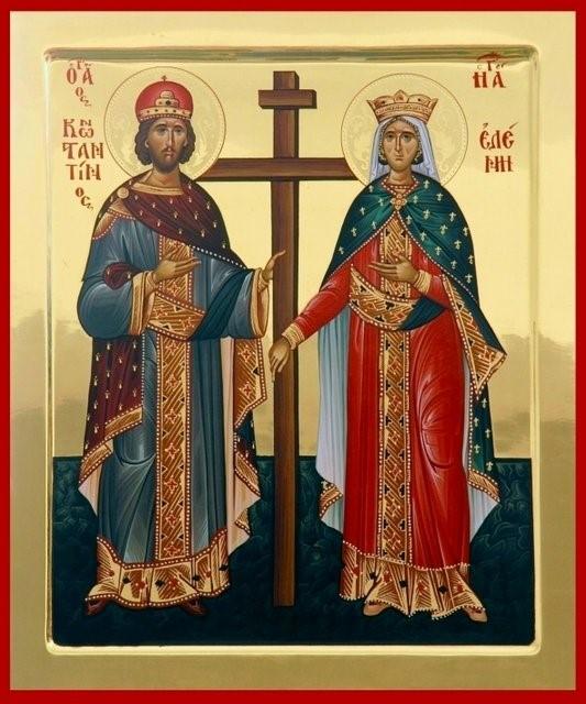 Sfintii Imparati Constantinus si Helena