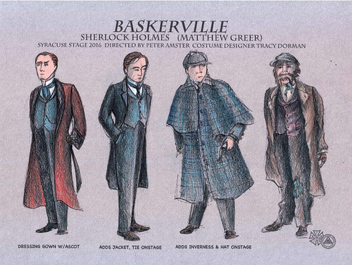 Costume Design for BASKERVILLE: A SHERLOCK HOLMES MYSTERY