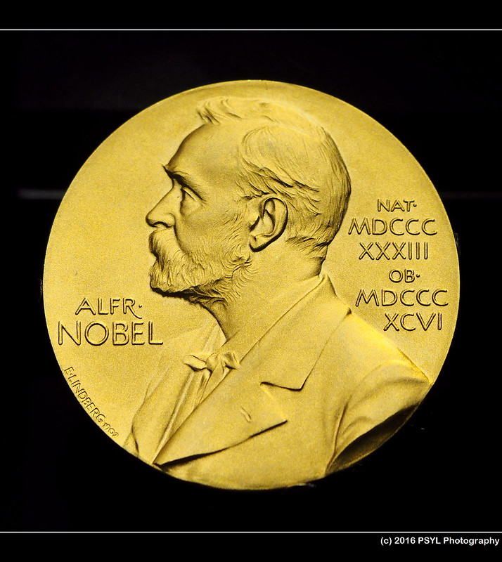 Nobel Prize medal (for Dr. Bertram N. Brockhouse)