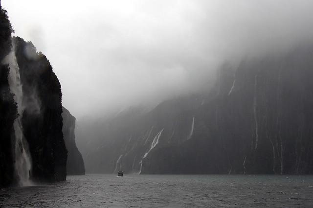 Milford Sound In The Rain
