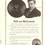 Wed, 2016-04-20 13:16 - 1915 Victor Talking Machines with McCormack Advertisement National Geographic June 1915