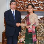 President Nakao in Myanmar