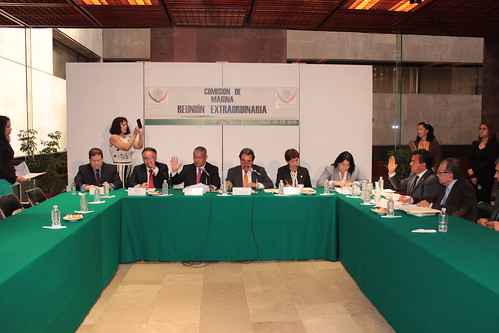 El día 6 de julio se llevó a cabo en la H. Cámara de Diputados la reunión extraordinaria de la Comisión de Marina.