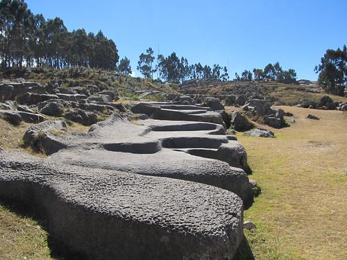 Qenqo Chico: ici, les incas utilisaient la pierre plutôt que de la transformer