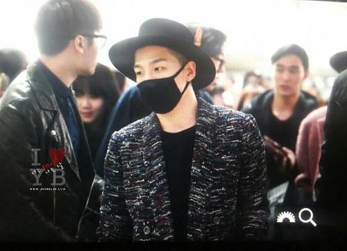 Big Bang - Incheon Airport - 21mar2015 - Tae Yang - Urthesun - 03