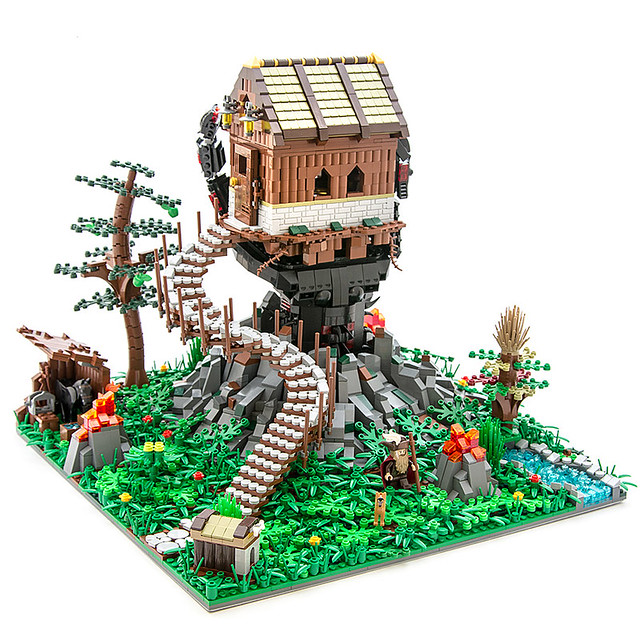 House Held Aloft Bricknerd Your Place For All Things