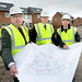 Visit to housing schemes in the Shankill area