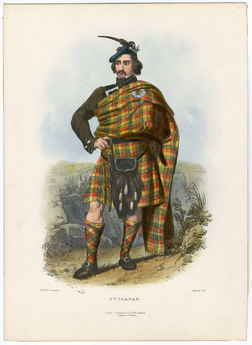 001-Clans of the_ScottishHighlands-1847-Plate_001-The Metropolitan Museum of Art-Thomas J. Watson Library