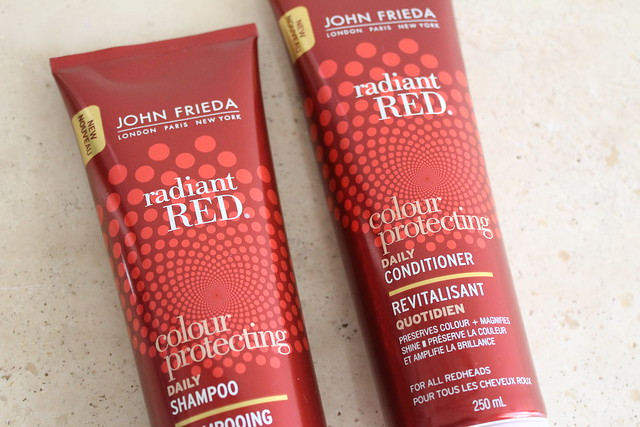 John Frieda radiant red review