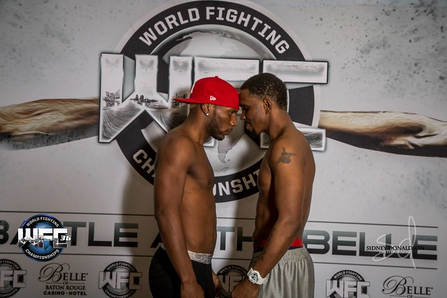 WFC 36 Weigh-Ins at the Bell of Baton Rouge