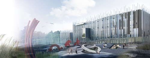 姚仁喜 大元建築工場 - 新北市立美術館競圖提案