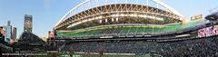 Sounders FC vs Houston Dynamo panorama