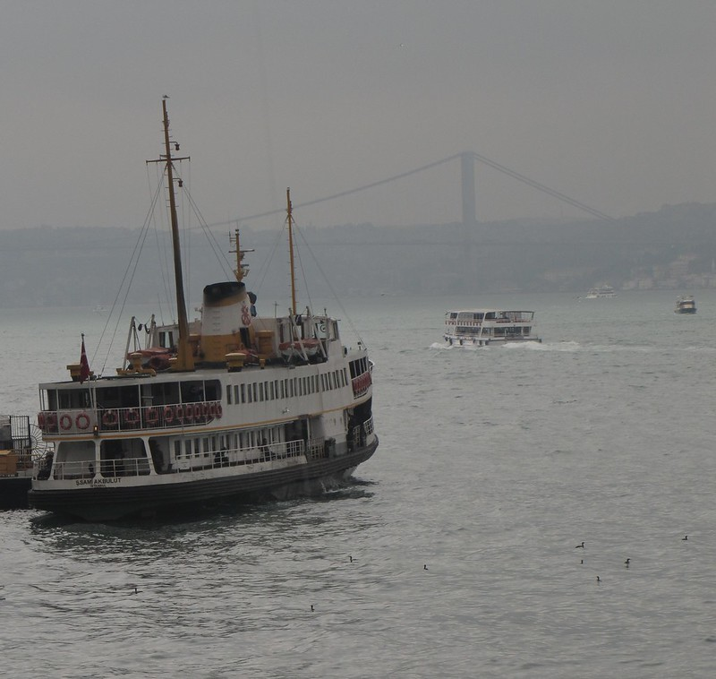 Ferries on the Bosphorus