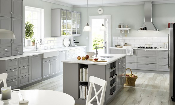 IKEA ranks highest in customer satisfaction with kitchen cabinets