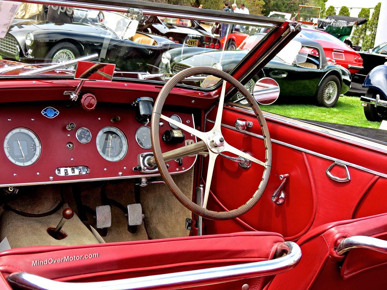 1938 Bugatti Type 57 Stelvio Interior