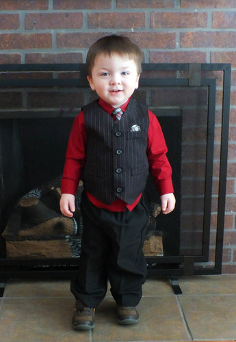 Jack, all dressed up