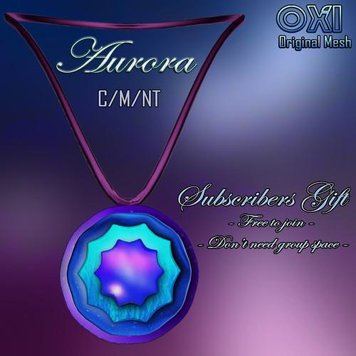 ::OXI:: Aurora Medallion (Subscribers Gift)